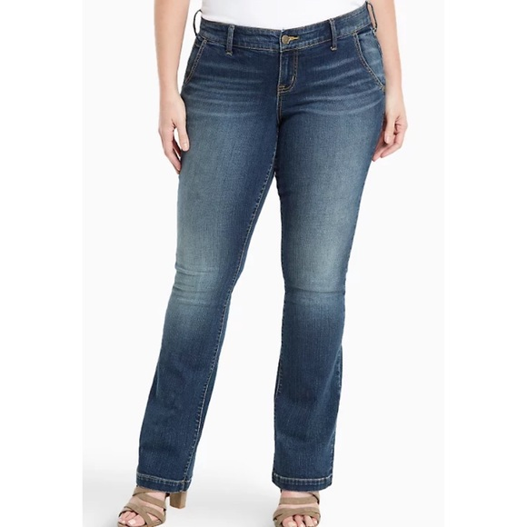 "Torrid Slim Boot Cut Trouser Jeans 20 x 34"""